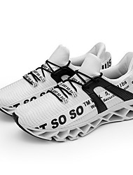 Недорогие -Муж. Комфортная обувь Tissage Volant Лето Спортивная обувь Беговая обувь Черный / Черный / Красный / Белый