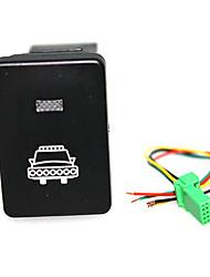 Недорогие -Переключатель фар автомобиля с линией дневного света на 120 мм, светодиодная кнопка включения для Toyota Camry