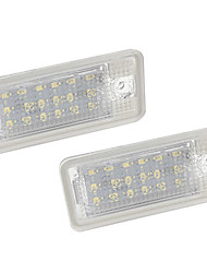 povoljno -2pcs / set led broj registarske tablice žarulja za audi a3 / a4 / a6 / a8 / rs4 / rs6