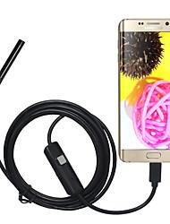 Недорогие -5.5 мм объектив USB-камера эндоскопа водонепроницаемый ip67 осмотр бороскоп мягкий 1 м длина для ПК Android