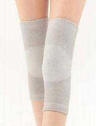 Недорогие -Фиксатор колена для Бег Баскетбол Футбол Сжатие видеоизображений Жен. Нейлон Спорт на открытом воздухе Серый
