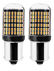 Недорогие -2pcs 1156 / 7440 Автомобиль Лампы 22 W SMD 3014 144 Светодиодная лампа Лампа поворотного сигнала / Тормозные огни / Фонари заднего хода (резервные) Назначение Универсальный Все года