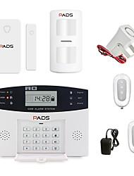 Недорогие -Беспроводная GSM сигнализация Охранная сигнализация Система домашней безопасности