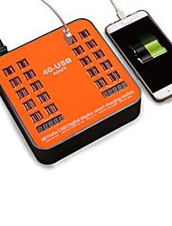 Недорогие -40-портовое зарядное устройство USB 5v / 40a с напряжением тока ЖК-дисплей для смартфона планшетного ПК