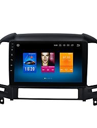 Недорогие -9-дюймовый Android 8.0 автомобильный GPS-навигатор с сенсорным экраном 4 ГБ 32 ГБ автомобильный мультимедийный DVD-плеер для Hyundai Elantra 2000-2006 Санта-Фе 2007-2012