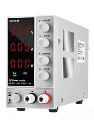 Недорогие -minleaf nps3010w 110 В / 220 В цифровой регулируемый источник питания постоянного тока 0-30 В 0-10a 300 Вт регулируемый лабораторный источник питания питания