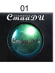Недорогие -бренд cmaadu хамелеон металл монохромный палитра теней для век алмазный жемчуг блестящие блестящие тени для век долговечный макияж