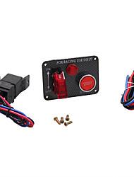 Недорогие -Пусковой механизм кнопки зажигания на двигателе с переключателем зажигания 12v