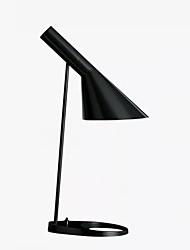 Недорогие -Современный современный Окружающие Лампы / Декоративная Настольная лампа / Лампа для чтения Назначение Спальня / Кабинет / Офис Металл 110-120Вольт / 220-240Вольт Черный / Белый