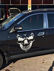 Недорогие -уникальный дизайн черепа пвх наклейки автомобиль крышка наклейки стикер стайлинга