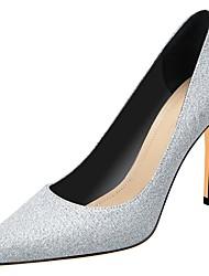 ieftine -Pentru femei Tocuri Toc Stilat Vârf ascuțit PU Primăvara & toamnă Argintiu / Gri