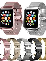 povoljno -Pogledajte Band za Apple Watch Series 4 / Apple Watch Series 4/3/2/1 Apple Klasična kopča / Moderna kopča Nehrđajući čelik Traka za ruku