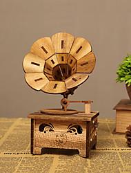 Недорогие -музыкальная шкатулка Дерево Металл Детские Девочки Игрушки Подарок