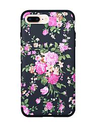 ราคาถูก -Case สำหรับ Apple iPhone XS / iPhone XR / iPhone XS Max Shockproof ปกหลัง Scenery / ดอกไม้ / Color Gradient TPU / พีซี