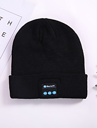 Недорогие -litbest m1 bluetooth music hat зима теплая вязаная шапка мужская и женская шляпа европейская и американская популярная шляпа для наушников