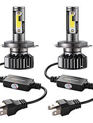 Недорогие -Мини-автомобиль светодиодные фары лампы h4 / hb2 / 9003 привет / ло 72 Вт 10000lm 6000 К автомобильные фары