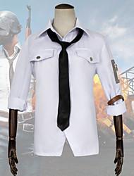 Недорогие -Вдохновлен Поля битвы игрока Косплей Аниме Косплэй костюмы Японский Косплей Костюмы Рубашка / пояс Назначение Муж.