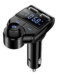 Недорогие -Bluetooth FM-передатчик - USB зарядка громкой связи Слот для SD-карты светодиодный дисплей