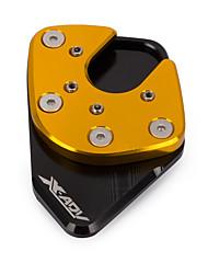 Недорогие -Профессиональные аксессуары для мотоциклов Kickstand Sidestand Stand Extension Увеличитель Pad для Honda X-Adv