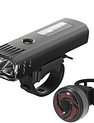 Недорогие -Светодиодная лампа Велосипедные фары Набор аккумуляторных ламп для велосипеда Передняя фара для велосипеда Задняя подсветка на велосипед Горные велосипеды Велоспорт Велоспорт / Водонепроницаемый