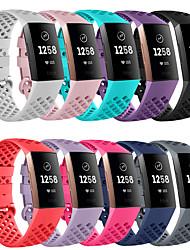 povoljno -Pogledajte Band za Fitbit Charge 3 Fitbit Klasična kopča Silikon Traka za ruku