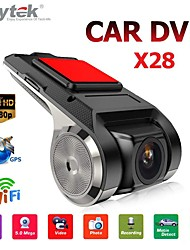 Недорогие -anytek x28 видеорегистратор fhd 1080p автомобильный видеорегистратор 150 градусов широкоугольный автомобильный видеорегистратор gps видеорегистратор с wifi / мини / g-сенсором / adas