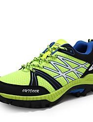 hesapli -Erkek Ayakkabı PU Sonbahar Atletik Ayakkabılar Dağ Yürüyüşü Dış mekan için Yeşil / Mavi / Gri