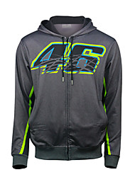 Недорогие -motogp vr46 rosie мотоцикл велоспорт гоночный костюм флис теплая повседневная куртка для мотоциклистов байкер езда бронированный всепогодный ветрозащитный материал текстиль (xxl xl l m s)