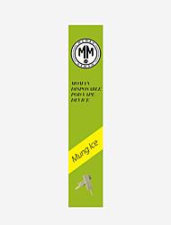 Недорогие -Moman одноразовые Vape Mung Ice аромат, апельсиновый аромат, органические и натуральные 1 шт. стикер Vape электронная сигарета для взрослых