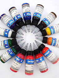 Недорогие -BaseKey Чернила для татуировки 14*60 ml Для профессионалов - Разноцветный