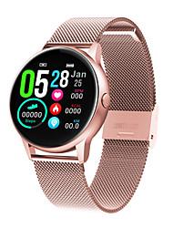billige -dt nr.1 dt88 mænd kvinder smartwatch android ios bluetooth vandtæt pulsmåler blodtryk måling sports kalorier forbrændt skridttæller opkald påmindelse sove tracker stillesiddende påmindelse