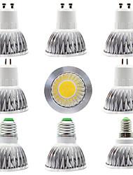 Недорогие -9 шт. 7 Вт светодиодный прожектор 300 лм gu5.3 gu10 e27 e14 1 светодиодные шарики початка новый дизайн домашнего магазина источник освещения теплый белый белый 85-265 В