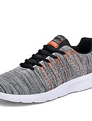hesapli -Erkek Ayakkabı Örümcek Ağı Sonbahar Kış Atletik Ayakkabılar Günlük için Siyah / Koyu Mavi / Gri