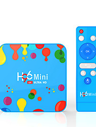 Недорогие -H96 мини H6 Allwinner H6 4 ГБ оперативной памяти 128 ГБ ROM 5 г Wi-Fi Bluetooth 4.0 Android 9,0 4 К 6 К ТВ-бокс