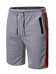 povoljno -Muškarci Ulični šik Kratke hlače Hlače - Više boja Crn Svijetlosiva Tamno siva US42 / UK42 / EU50 US44 / UK44 / EU52 US46 / UK46 / EU54