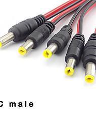 Недорогие -Штекерный кабель постоянного тока для системы безопасности камеры видеонаблюдения Адаптер разъема удлинительного кабеля питания постоянного тока