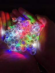 Недорогие -Круглый шар светодиодный шар огни светящиеся лампы для фонаря бар рождественская свадьба украшения огни бумажный фонарь
