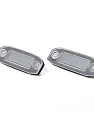 Недорогие -белый светодиодный номерной знак лампочки для volvo c30 c70 s80 v70 xc70