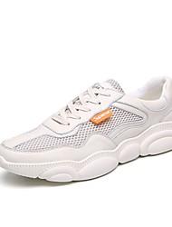 Недорогие -Муж. Комфортная обувь Tissage Volant Лето Спортивная обувь Беговая обувь Черный / Белый / Бежевый