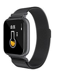 Недорогие -Q1 умные часы мужчины женщины артериальное давление кислорода в крови монитор сердечного ритма спортивные трекер SmartWatch Ip68 Connect IOS Android