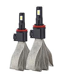 Недорогие -2 шт. H8 / h9 / h11 фара s7 автомобиля светодиодная замена лампы автомобиля сигнал освещения лампы универсального применения