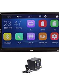 Недорогие -2 дин автомагнитола 7-дюймовый автомобильный радиоприемник mp5-плеер мультимедийный проигрыватель 2din аудио bluetooth зеркало ссылка рулевого управления