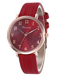 Недорогие -Жен. электронные часы Мода Цветной Черный Красный Серый Искусственная кожа Китайский Кварцевый Черный Белый Розовый Повседневные часы обожаемый 30 m 1 ед. Аналоговый Один год Срок службы батареи