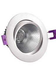 Недорогие -Новый светодиодный прожектор 12 Вт Встроенный потолочный прожектор Даунлайт Освещение магазина одежды и отелей