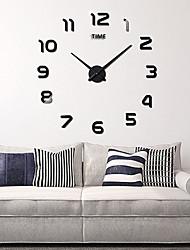 """お買い得  -壁掛け時計、ファッションDIYアクリルラウンド屋内100 * 100cm(39"""" * 39"""")"""