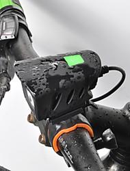 Недорогие -Светодиодная лампа Велосипедные фары Передняя фара для велосипеда LED Велоспорт Велоспорт Быстросъемный Литий-полимерная Литий-ионная аккумуляторная батарея 1000 lm Перезаряжаемая батарея Белый