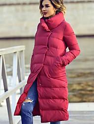Недорогие -Жен. Однотонный На подкладке, Полиэстер Черный / Красный M / L / XL