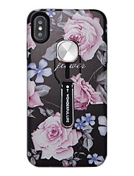 billige -Etui Til Apple iPhone 11 / iPhone 11 Pro / iPhone 11 Pro Max Ultratynn / Mønster Bakdeksel Blomsternål i krystall TPU