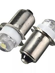 Недорогие -2 шт. P13.5s светодиодный фонарик замена лампы 0.5 Вт 100lm факел рабочий свет лампы постоянного тока 6 В чисто белый