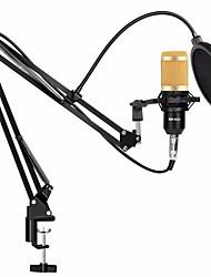Недорогие -Профессиональный конденсаторный микрофон для караоке с комплектом bm-800 и подставкой для крепления ручки для компьютерного аудио вокала с микрофоном